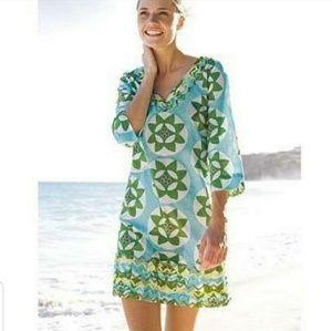 Boden Women's Ibiza Kaftan Ric Rac Tunic Dress
